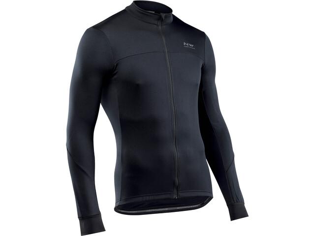 Northwave Force 2 maglietta a maniche lunghe Uomo, black